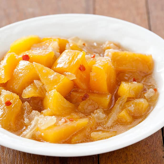 Peach-Ginger Chutney