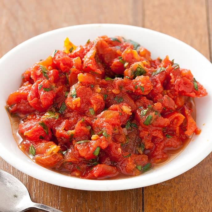 Smoky Tomato Chutney