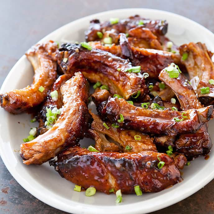 Honey-Roasted Ribs