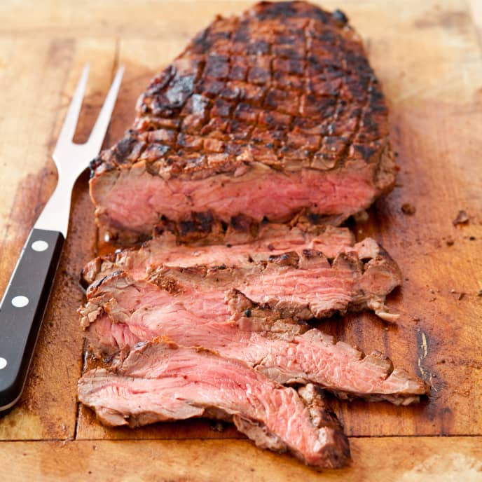 Oven-Grilled London Broil