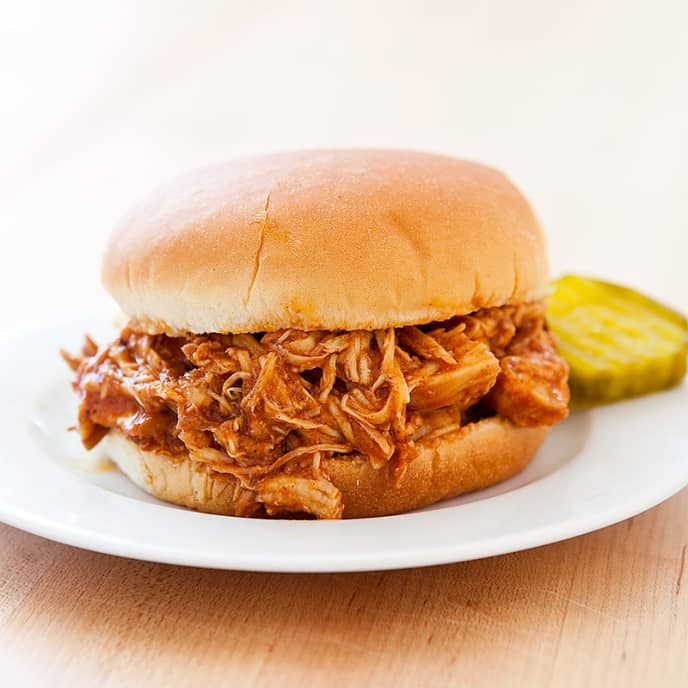 Slow-Cooker Pulled Chicken