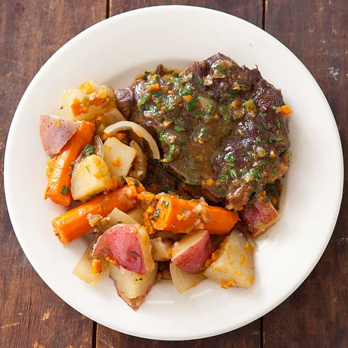 Yankee Pot Roast for Two