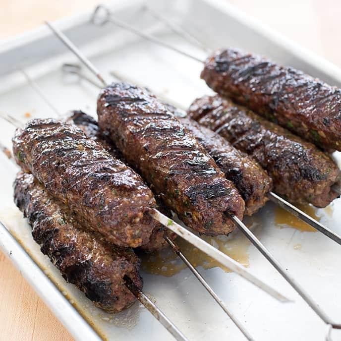 Grilled Beef Kofte