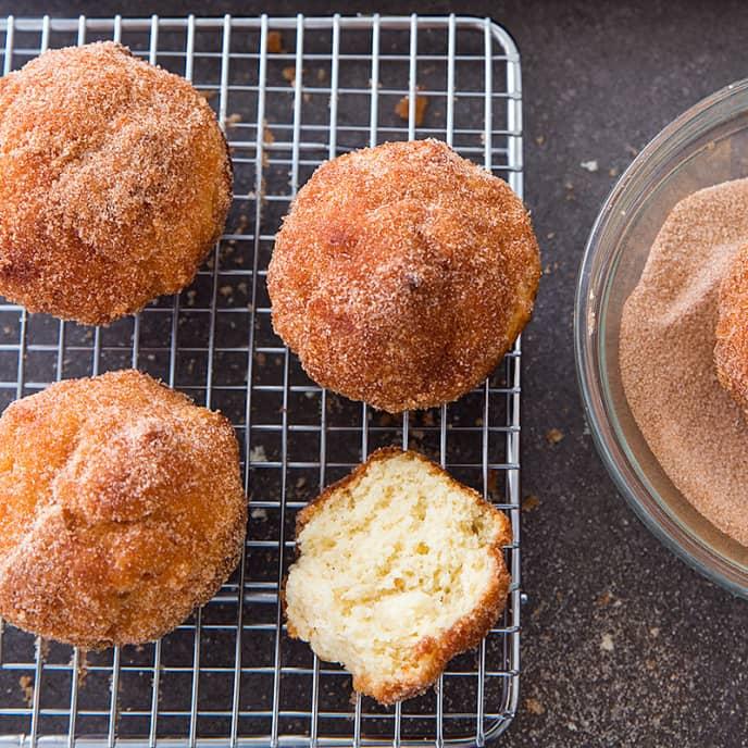 Muffin Tin Doughnuts