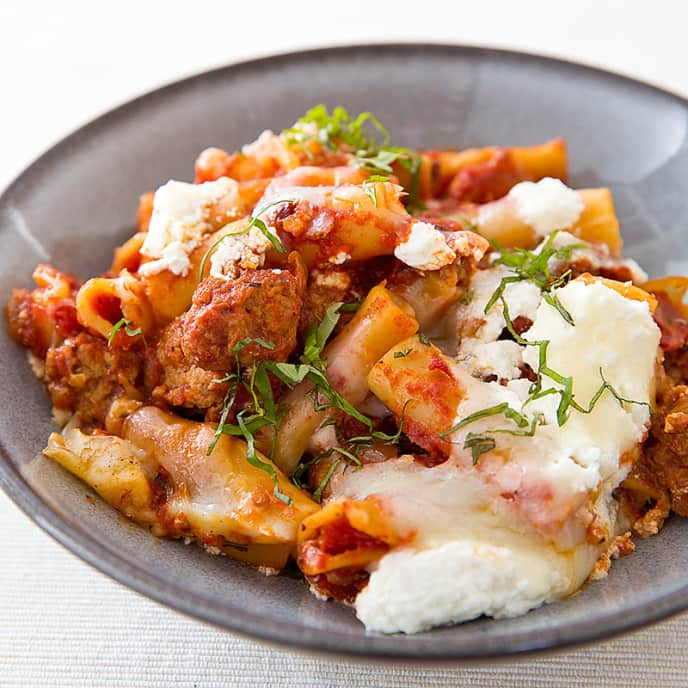 Slow-Cooker Baked Ziti