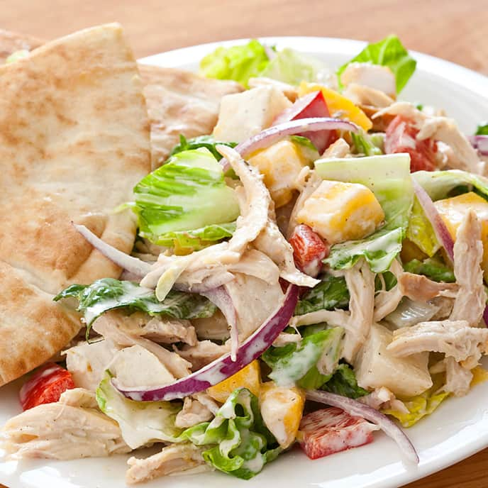Chicken Salad with Jerk Dressing