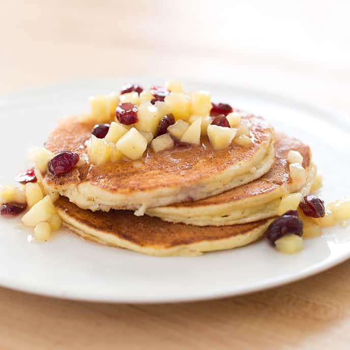 Apple-Cranberry Pancake Topping