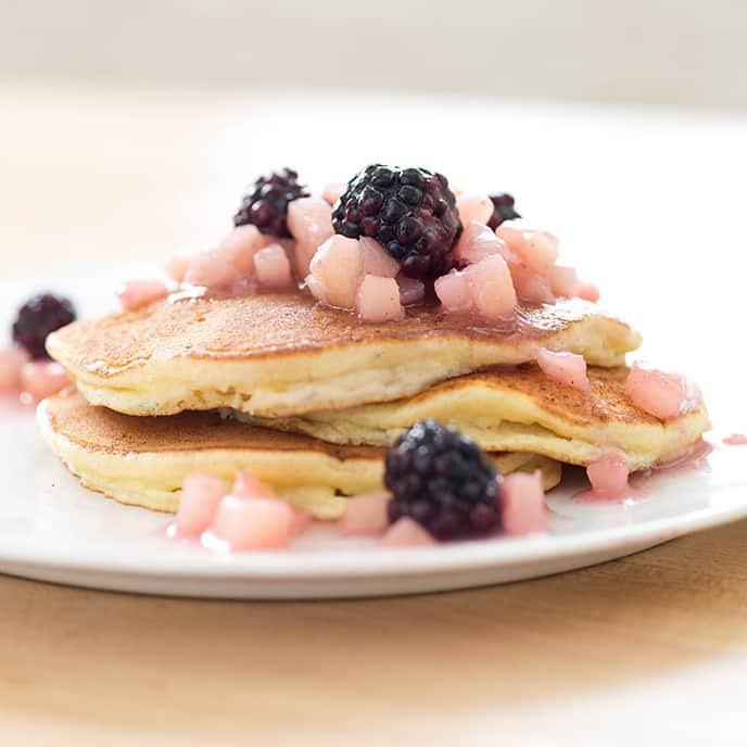 Pear-Blackberry Pancake Topping