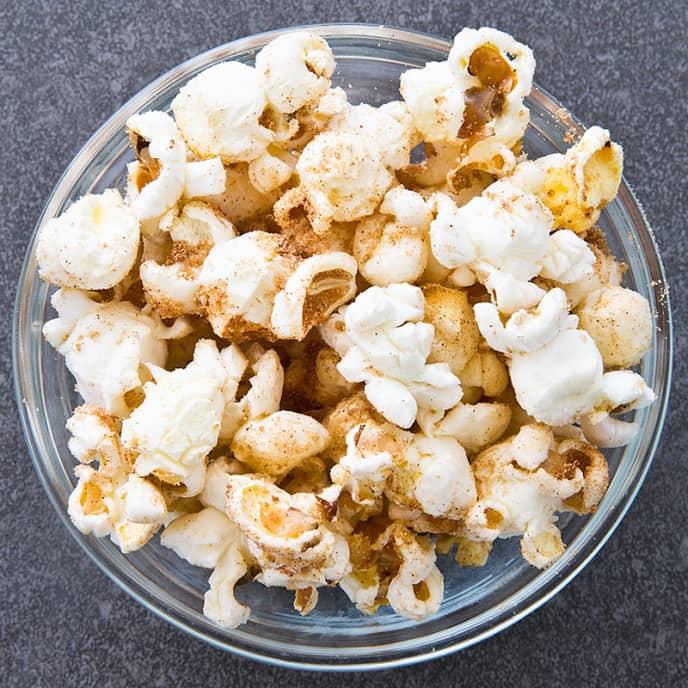 Cinnamon-Malt Popcorn