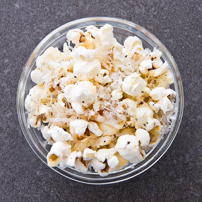 Parmesan-Pepper Popcorn