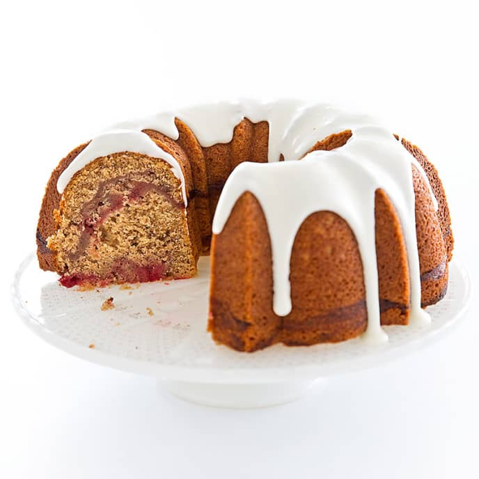 Cranberry-Pecan Spice Cake