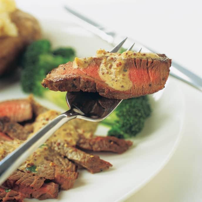 Pan-Seared Inexpensive Steak
