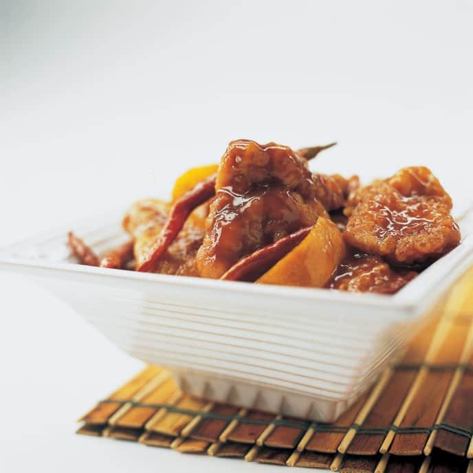 Baked Orange-Flavored Chicken