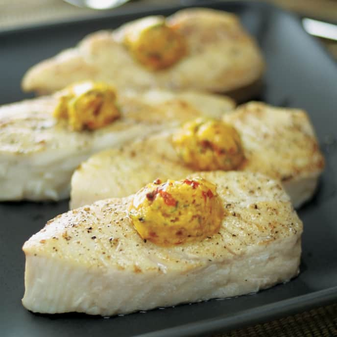 Pan-Roasted Halibut Steaks