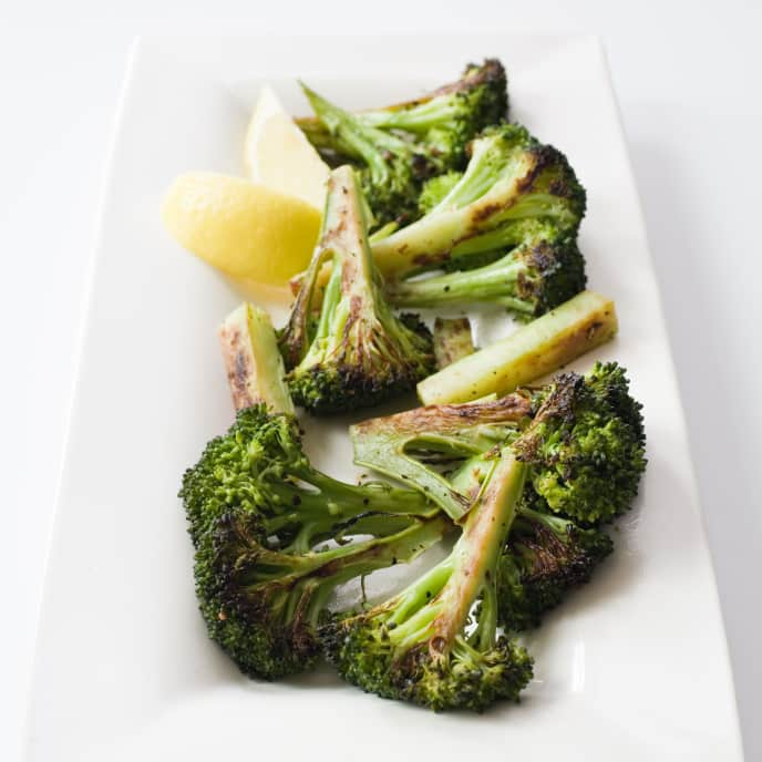 Pan-Roasted Broccoli