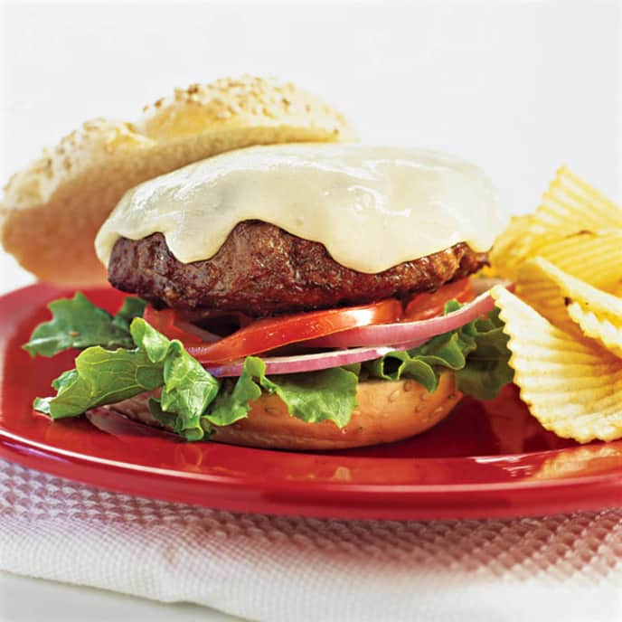 Stovetop Well-Done Hamburgers