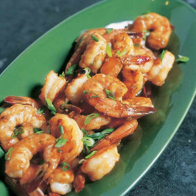 Aromatic Stir-Fried Shrimp