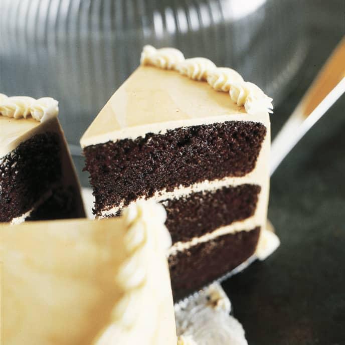 Moist and Tender Devil's Food Cake