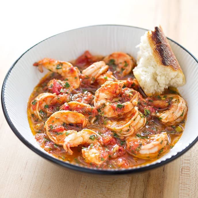 Shrimp Fra Diavolo for Two