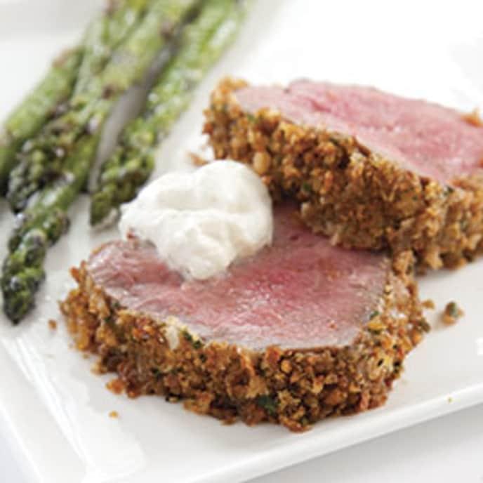 Horseradish-Crusted Beef Tenderloin