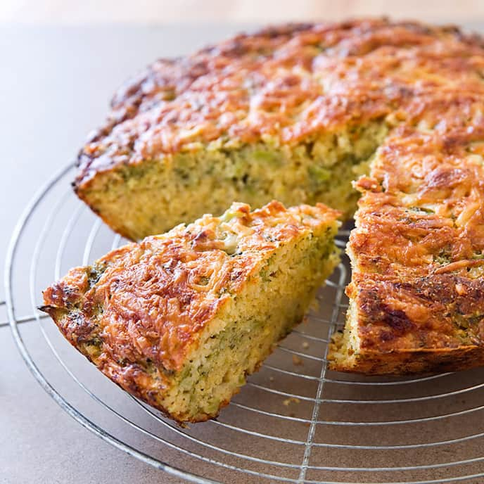 Broccoli-Cheese Cornbread