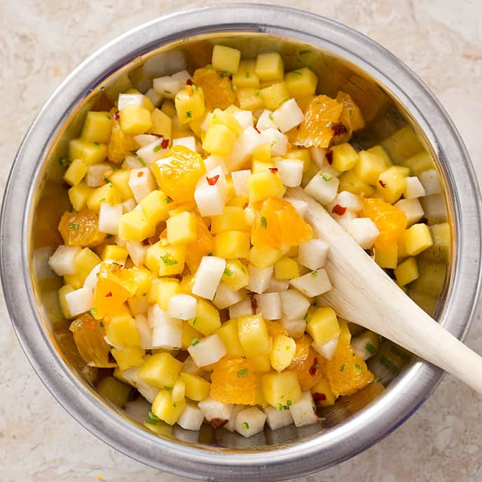 Mango, Orange, and Jícama Salad