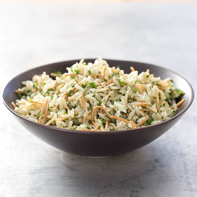 Herbed Rice and Pasta Pilaf