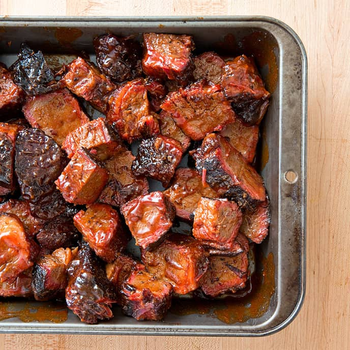 Barbecued Burnt Ends
