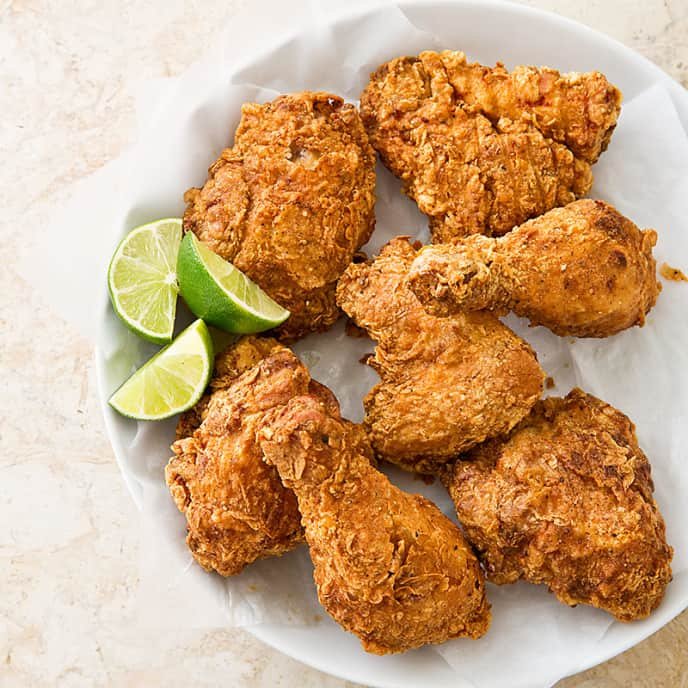 Garlic-Lime Fried Chicken