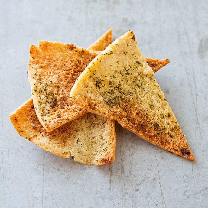 Buttermilk-Ranch Pita Chips