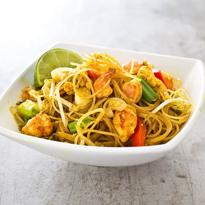Singapore Noodles for Two