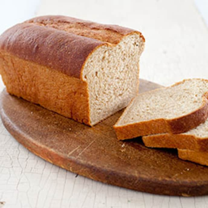 Whole Wheat American Loaf Bread