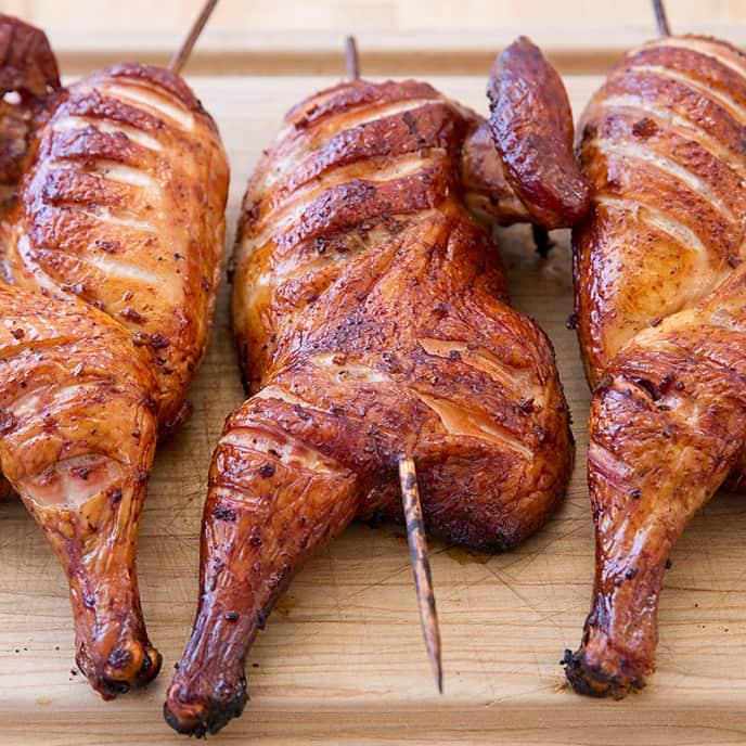 Smoked Bourbon Chicken