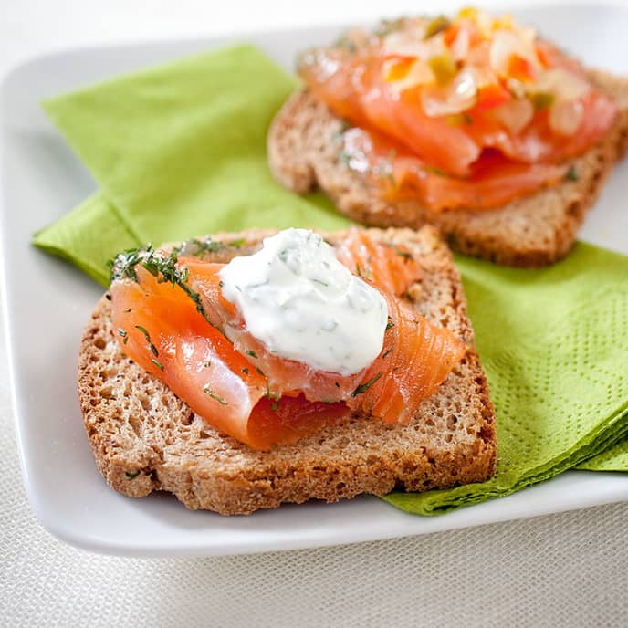 Gravlax for a Crowd