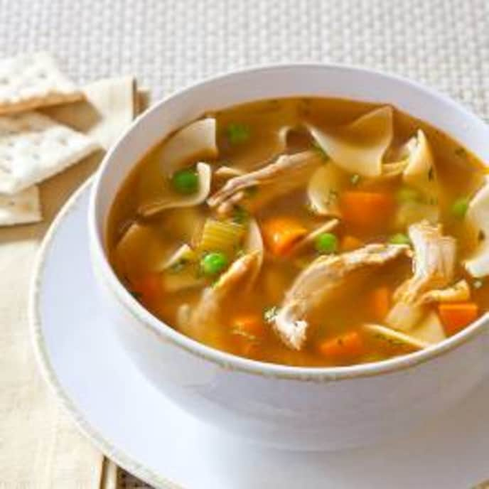Slow-Cooker Old-Fashioned Chicken Noodle Soup