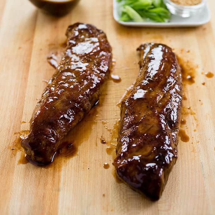 Hoisin-Glazed Pork Tenderloin