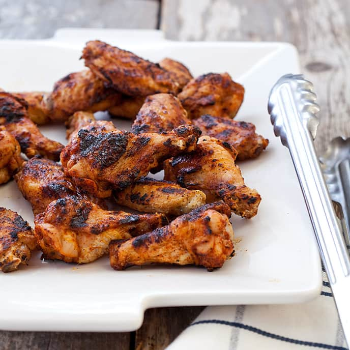 Grilled Chicken Wings