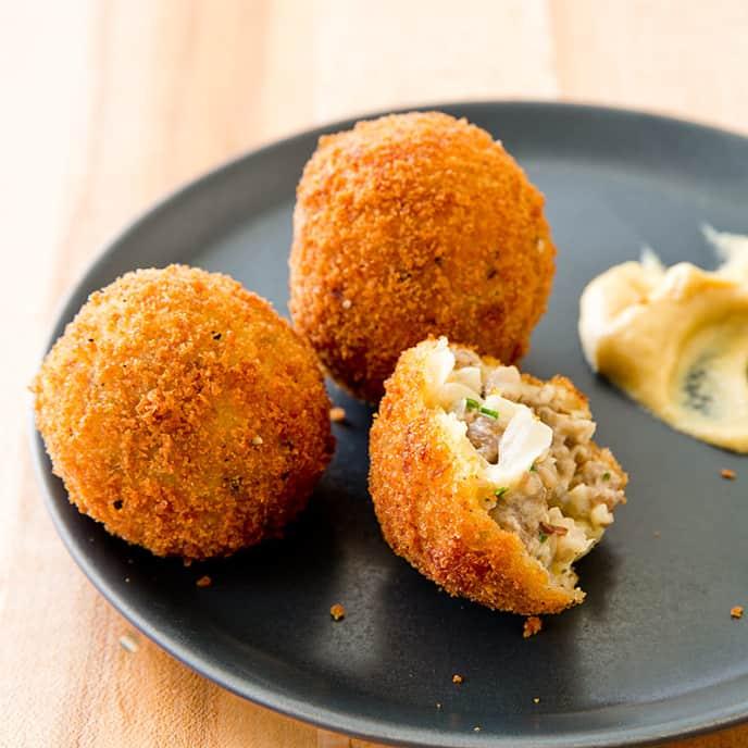 Sausage-Sauerkraut Balls