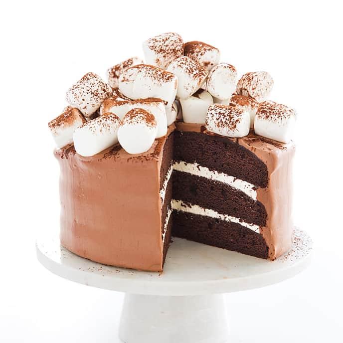 Hot Cocoa Cake