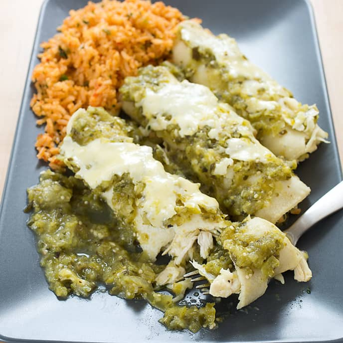 Enchiladas Verdes America S Test Kitchen
