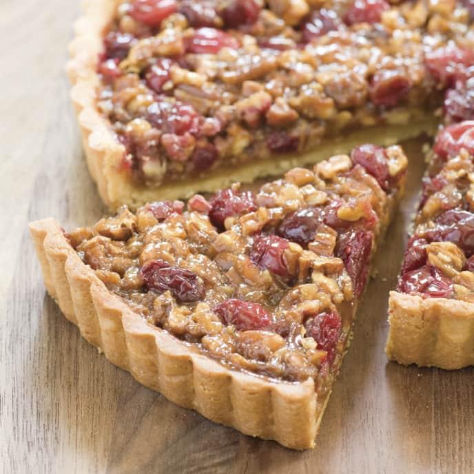 Cranberry-Pecan Tart