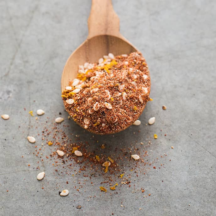 Sesame-Orange Spice Blend