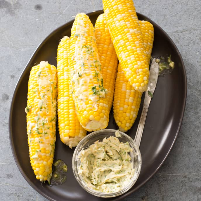 Microwaved Corn on the Cob