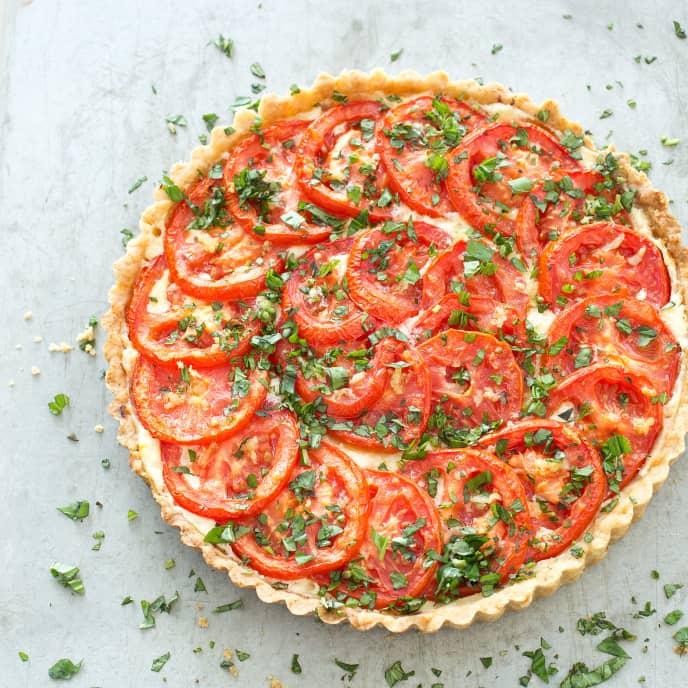 Torta di Pomodoro—Tomato Tart