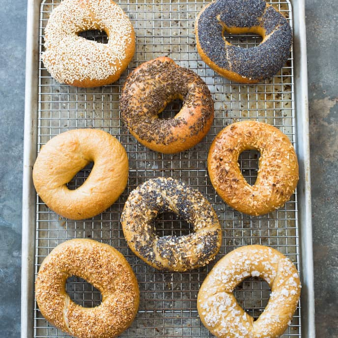 New York Cinnamon-Raisin Bagels