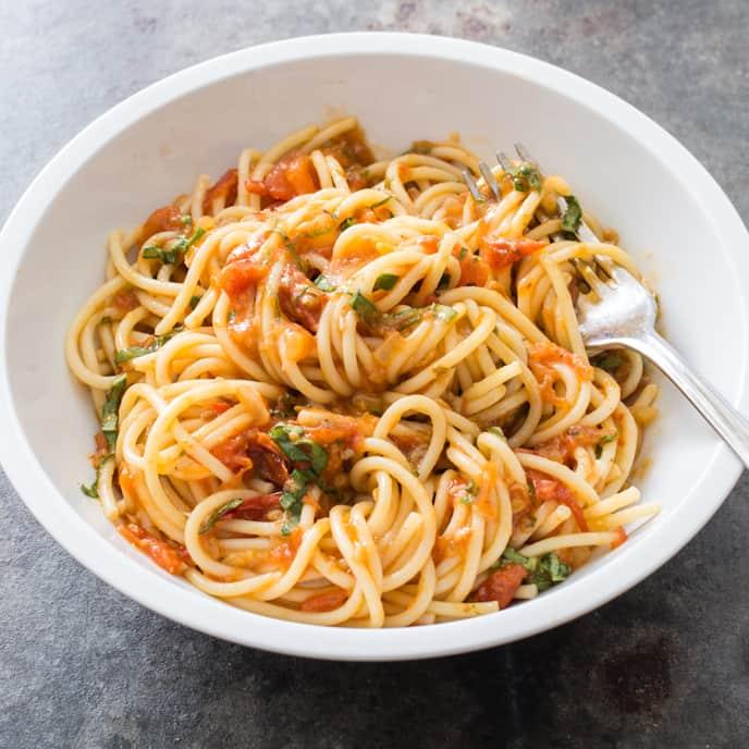 Chunky Roasted Tomato Sauce