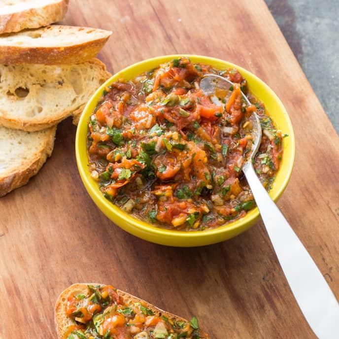 Roasted Tomato Relish