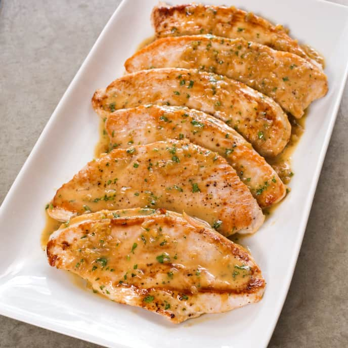 Sauteed Turkey Cutlets