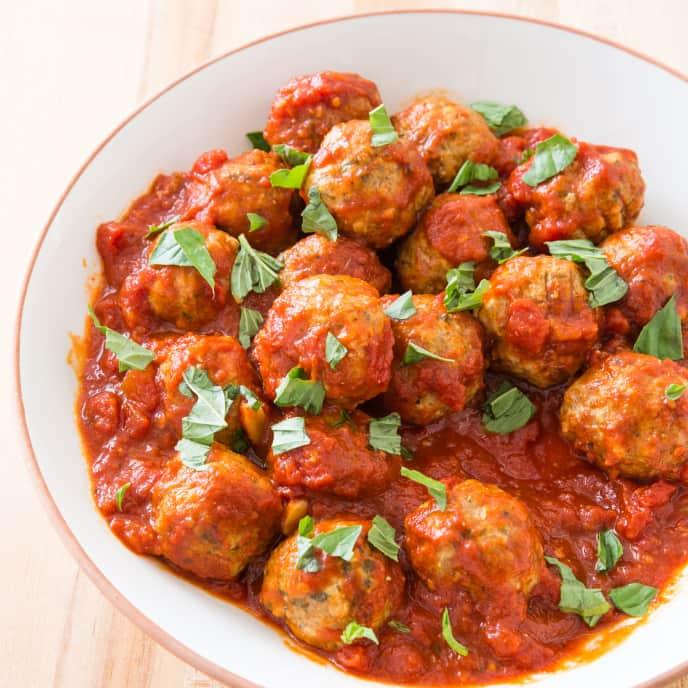 Pork and Ricotta Meatballs