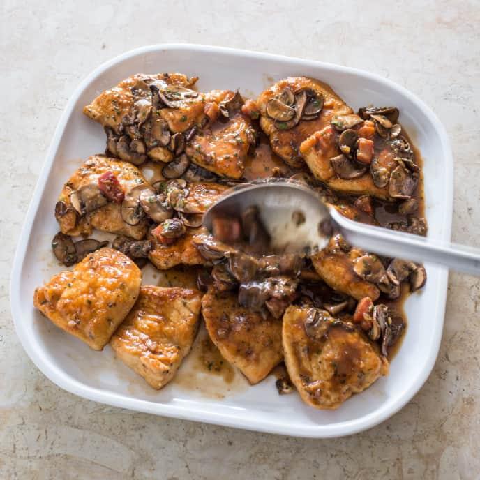Better Chicken Marsala for Two